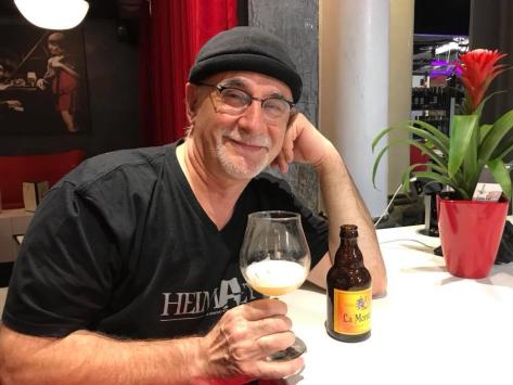 Ian Manook, l'amateur de bière La Montoise