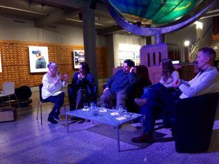 Barbara Abel, Michel Dufranne, Iabelle Corlier et Paul Colize en rencontre NbdN 2017
