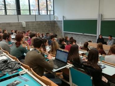 Mikel Santiago Rencontre les étudiants de l'E.II. dans le cadre de la NbdN 2017