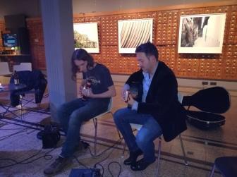 Session musicale Nbdn 2017 Mikel Santiago et Dorian Clini